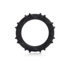 Atlas Silicone Ring Black