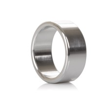 Alloy Metallic Ring - M Silver