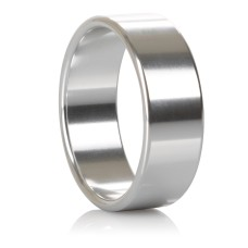 Alloy Metallic Ring - XL Silver