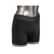 Boxer Brief with Packing Pouch Black