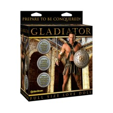 Gladiator Vibrating Doll Light skin tone