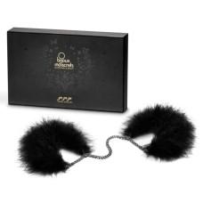 Bijoux Indiscrets - Za Za Zu Feather Handcuffs Black