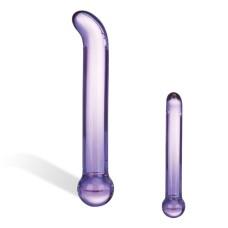 Glas - Purple Glass G-Spot Tickler
