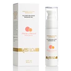 YESforLOV - Allover Delicious Massage Gel Peach Apricot