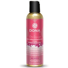Dona - Scented Massage Oil Blushing Berry 110 ml