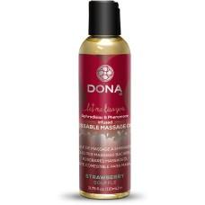 Dona - Kissable Massage Oil Strawberry Soufflé 110 ml
