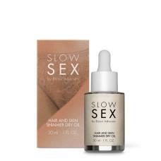 Bijoux Indiscrets - Slow Sex Hair & Skin Shimmer Dry Oil