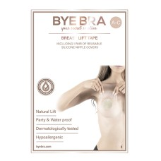 Bye Bra - Breast Lift & Silicone Nipple Covers A-C 4 Pairs