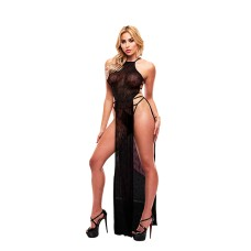 Lapdance - Lace Gown Black