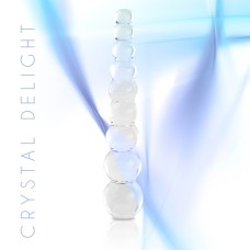 FeelzToys - Glazzz Glass Dildo Crystal Delight