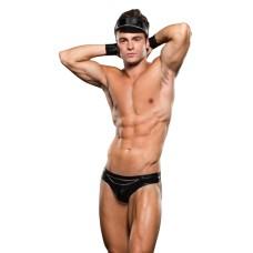 Envy - Biker Bikini Bottom/Cuff/ Hat 3 Pc M/L