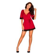 Obsessive - Sensuelia Robe Red L/XL