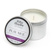 Fifty Shades of Grey - Play Nice Vanilla Candle 90 gram