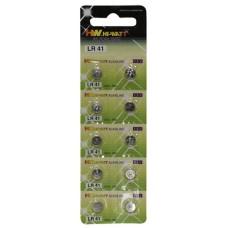 Button Cell LR41 10 pcs